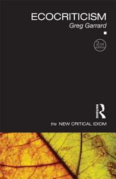 Ecocriticism: Edition 2