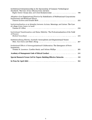 Academy of Management Journal PDF