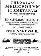 Theoricae mediceorum Planetarum ex causis physicis deductae