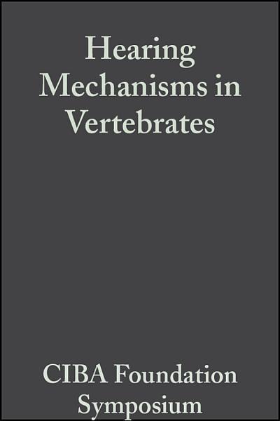 Hearing Mechanisms in Vertebrates PDF