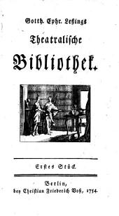 Theatralische Bibliothek: Band 1