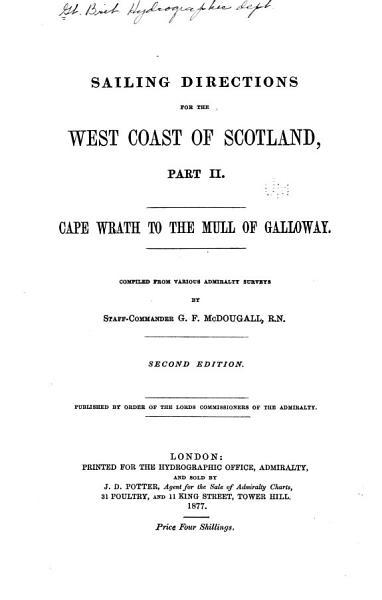 Download West Coast of Scotland Pilot Book