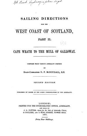 West Coast of Scotland Pilot
