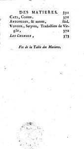 Nouvelle bibliothèque d'un homme de goût ou tableau de la litérature ancienne et moderne, étrangère et nationale: Volume1