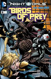 Birds of Prey (2011-) #9