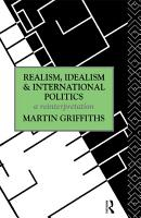 Realism  Idealism and International Politics PDF