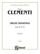 Twelve Sonatinas: For Piano