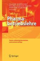 Pharmabetriebslehre PDF