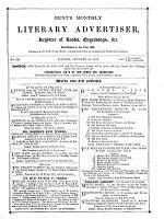 The Monthly Literary Advertiser PDF