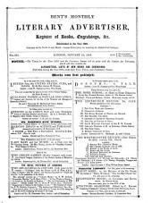 The Monthly Literary Advertiser: Volume 15