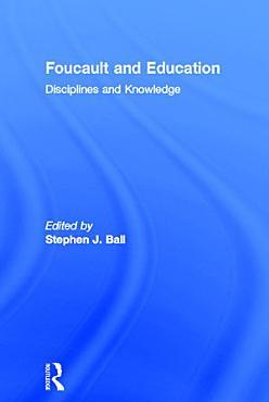 Foucault and Education PDF