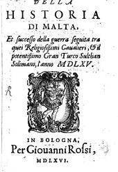 Della historia di Malta