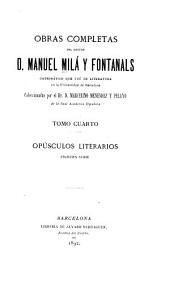Obras completas: Volumen 4