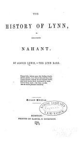 The History of Lynn: Including Nahant