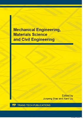 Mechanical Engineering  Materials Science and Civil Engineering PDF