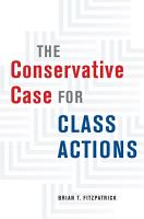 The Conservative Case for Class Actions PDF