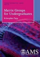 Matrix Groups for Undergraduates PDF