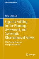 Capacity Building for the Planning  Assessment and Systematic Observations of Forests PDF