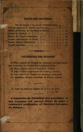 Annuaire de l'institut des provinces et des congrès scientifiques: 1850