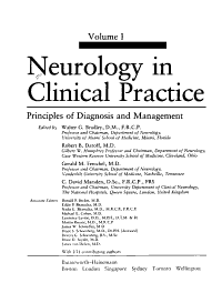 Neurology in Clinical Practice  Principles of diagnosis and management PDF