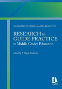 Research to Guide Practice in Middle Grades Education PDF