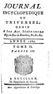 Journal encyclopédique: Volume2,Partie3
