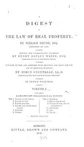 A digest of the law of real property: Volumes 1-2