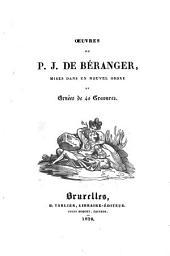 Œuvres de P. J. de Béranger, mises dans un nouvel ordre et ornées de 40 gravures: Volume3
