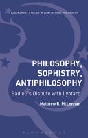 Philosophy  Sophistry  Antiphilosophy PDF