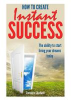 How To Achieve Instant Success PDF