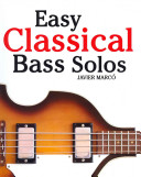 Download Easy Classical Bass Solos Book