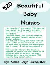 520 Beautiful Baby Names