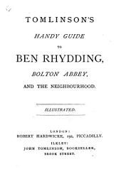 Tomlinson's Handy Guide to Ben Rhydding, Bolton Abbey, and the neighbourhood. Illustrated