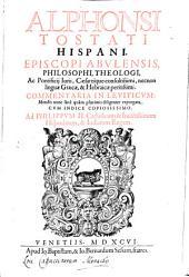 Commentaria In Leviticum