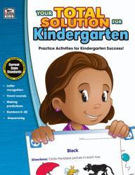 Your Total Solution for Kindergarten Workbook PDF