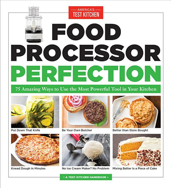 Food Processor Perfection Pdf Book