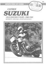 Suzuki, GS & GSX1100 Fours, 1980-1981
