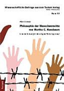 Philosophie der Menschenrechte von Martha C  Nussbaum PDF