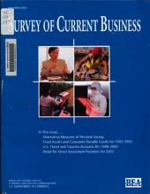 Survey of Current Business: Volume 84, Issue 9