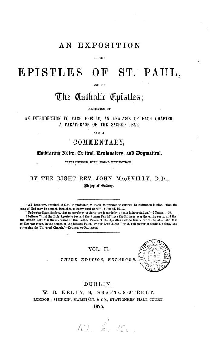 The Bible educator, ed. by E.H. Plumptre