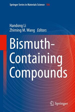 Bismuth Containing Compounds PDF