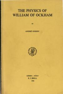 The Physics of William of Ockham PDF