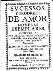 Sucessos y prodigios de amor: novelas exemplares