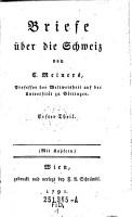 Briefe   ber die Schweiz PDF