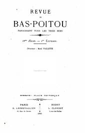 La Revue du Bas-Poitou et des Provinces de l'Ouest: Volume18