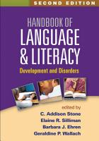 Handbook of Language and Literacy  Second Edition PDF