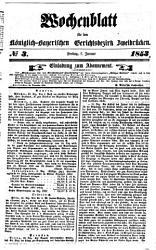 Wochenblatt f  r den K  niglich Bayerischen Gerichtsbezirk Zweibr  cken PDF