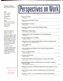 Perspectives on Work PDF