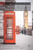 Rhetoric in British Politics and Society PDF