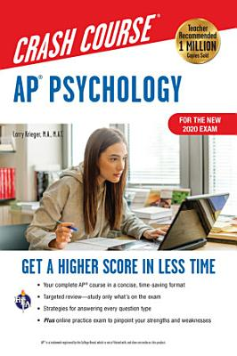 AP   Psychology Crash Course  For the New 2020 Exam  Book   Online